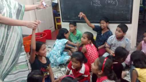 Litmus magic with Ms. Sharmistha