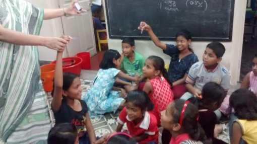 Litmus magic with Ms. Sharmistha